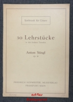 30 Lehrstücke in den leichten Tonarten : Op. 38.