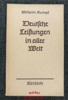 Deutsche Leistungen in aller Welt.