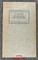 Die deutschen Parteiprogramme : Heft 1 : Von 1844 - 1871.
