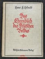 Das Ehrenbuch des Deutschen Volkes.