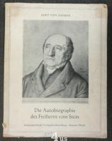 Die Autobiographie des Freiherrn vom Stein.