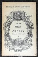 Alceste : musikalisches Drama in drei Akten