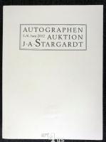 Autographen aus allen Gebieten. Auktion 5. und 6. Juni 2012 Kempinski Hotel Bristol Berlin Katalog 698