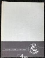 Europäische Reiseschrift : Die Fahrt : 9. Jahrgang 1956 [6 Hefte]