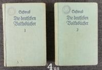 Die deutschen Volksbücher. Für Jung und Alt wiedererzählt. (9 Hefte in 2 Bänden)