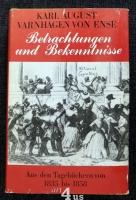 Betrachtungen und Bekenntnisse : aus den Tagebüchern von 1835 bis 1858.