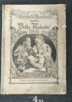 Bertold Auerbachs deutscher Volks-Kalender auf das Jahr 1860