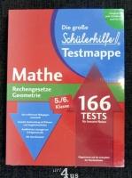 Die große Schülerhilfe Testmappe  Mathe  Rechengesetze. Geometrie  5./6. Klasse