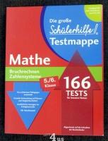 Die große Schülerhilfe Testmappe  Mathe  Bruchrechnen. Zahlensysteme  5./6. Klasse