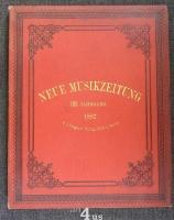 Neue Musik-Zeitung  8. Jahrgang (1887)