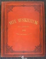 Neue Musik-Zeitung  24. Jahrgang (1903) ; mit Notenbeilage