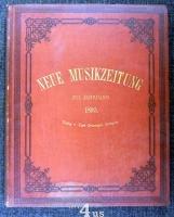 Neue Musik-Zeitung  16. Jahrgang (1895) ; mit Notenbeilage