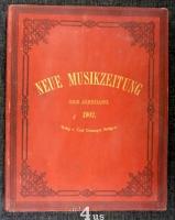 Neue Musik-Zeitung  23. Jahrgang (1902) ; mit Notenbeilage