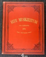 Neue Musik-Zeitung  22. Jahrgang (1901) ; mit Notenbeilage