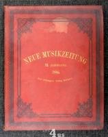 Neue Musik-Zeitung  7. Jahrgang (1886) ; mit Notenbeilage