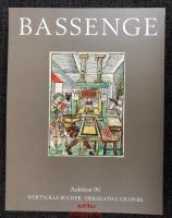 Bassenge Auktion 96: Wertvolle Bücher - Dekorative Graphik. 20. bis 21. Oktober 2010.