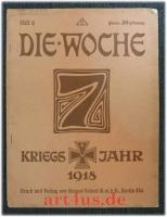 Die Woche : Kriegsjahr 1918 : Heft 4 ; 20. Jahrgang, 26. Januar 1918