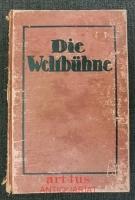 Die Weltbühne : XIX. Jahrgang : 19. Jahrgang, Erstes Halbjahr 1923.