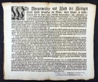 Frankfurt am Main 1747 : Abstellung derer Handwercks-Mißbräuche