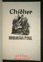 Chidher ; Ballade von Fried. Rückert : mit Holzschnitten v. J. Lebek.
