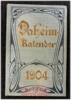 Daheim-Kalender für das Deutsche Reich : Auf das SchaltJahr 1904.