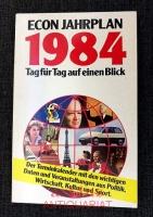 Econ-Jahrplan : 1984 ; Tag für Tag auf einen Blick.